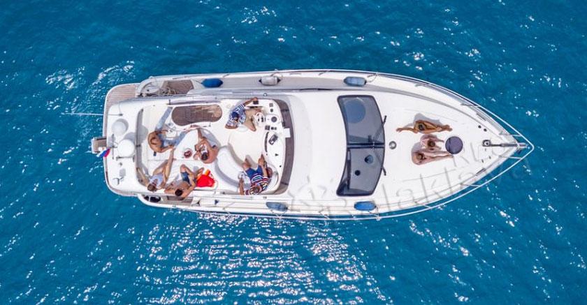 yacht in balaclava