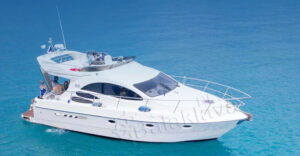 yacht in crimea
